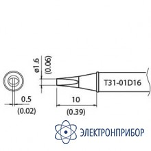 Наконечник для станции fx-100 450°с T31-01D16