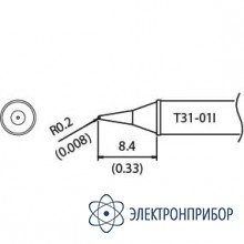 Наконечник для станции fx-100 450°с T31-01I