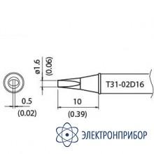 Наконечник для станции fx-100 400°с T31-02D16