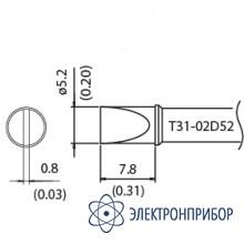 Наконечник для станции fx-100 400°с T31-02D52