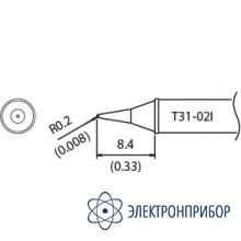 Наконечник для станции fx-100 400°с T31-02I