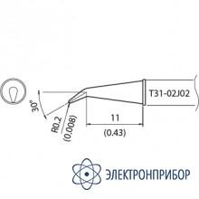 Наконечник для станции fx-100 400°с T31-02J02