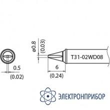 Наконечник для станции fx-100 400°с T31-02WD08