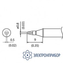 Наконечник для станции fx-100 350°с T31-03D08