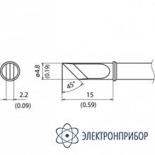 Наконечник для станции fx-100 350°с T31-03KU