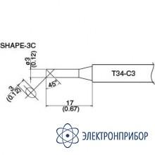 Сменная головка для hakko dash fx-650 T34-C3