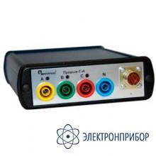 Прибор для измерения показателей качества электрической энергии Прорыв-Т-А с токовыми клещами Прорыв-КТ800