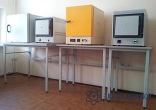 Стол лабораторный  для электропечи 600х600х900 керамика