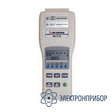 Даталоггер-регистратор одноканальный малогабаритный с режимами самописца, печати результатов, хранения данных TES-30