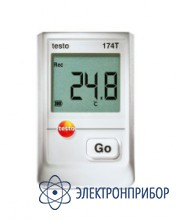 1-канальный мини-логгер данных температуры Testo 174T