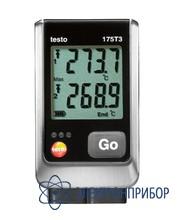 2х-канальный логгер данных температуры с разъемом для внешнего зонда (типа t и k) testo 175 T3