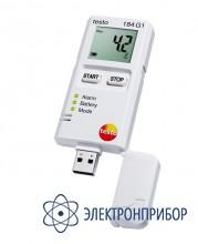 Мини-логгер данных температуры, влажности и ударной нагрузки testo 184 G1
