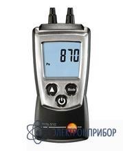 Дифференциальный цифровой манометр testo 510