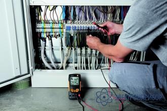 Цифровой мультиметр с функцией измерения истинного скз testo 760-2