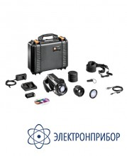 Тепловизор со стандартным объективом и телеобъективом testo 885-2 Profi комплект
