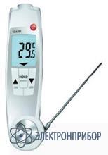 Комбинированный термометр для инфракрасных  и погружных измерений температуры Testo 104-IR