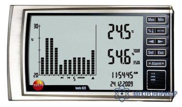 Прибор точного измерения температуры и влажности с функцией тренда testo 623