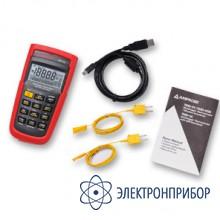 Цифровой термометр с регистратором данных и подключением по usb TMD-56