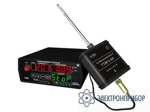 Стационарный двухканальный измеритель скорости потока воздуха ТТМ-2/2-06-4Р-2А