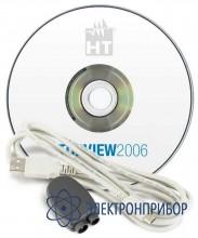 По управления + оптический usb кабель (для акип-8701) TOPVIEW2006