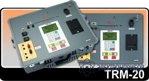 Специализированный измеритель сопротивления обмоток трансформаторов, тестирование устройств рпн TRM-20