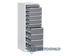 Драйвер-шкаф с 10 ящиками, антистатическое исполнение ДР-10/1 ESD