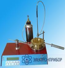 Полуавтоматический аппарат для определения температуры вспышки и воспламенения в закрытом тигле ТВО-П