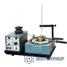 Аппарат для определения температуры вспышки в открытом тигле ТВО