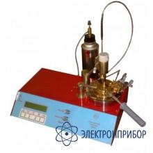 Полуавтоматический аппарат для определения температуры вспышки в закрытом тигле ТВЗ-П