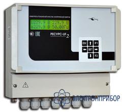 Измеритель показателей качества электрической энергии с поддержкой протокола мэк 60-870-5-101 Ресурс-UF2