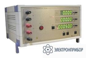 Калибратор переменного тока однофазный в диапазоне частот от 40 гц до 400 гц УИ300.2-1.4