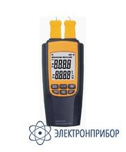 Двухканальный измеритель температуры АТТ-5060