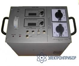Устройство для проверки токовых расцепителей автоматических выключателей (до 1,3 ка) УПТР-МЦ