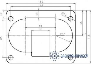 Розетка щитовая ШЩ 4х60-Р
