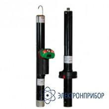 Указатель высокого напряжения комбинированный (с курсовым фонарем vonatex) УВНК-10Б (исполнение 2) 10-110кВ