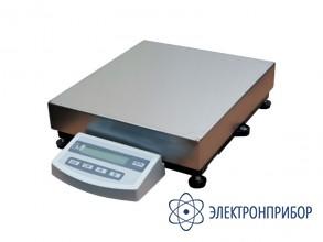 Платформенные лабораторные весы ВПС-15