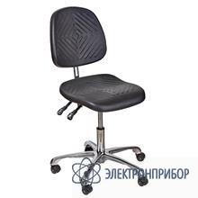 Антистатический полиуретановый лабораторный стул с регулировкой угла наклона спинки, с газлифтом kj/140 VKG C-300/KJ140 ESD
