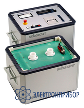 Испытательная система для кабелей с пэ/пвх и бумажно-масляной изоляцией (до 40 кв при 4,4 мкф, выходной ток 7 ма) VLF 40 Plus