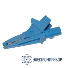 Для ren-700, pqm-701, pqm-701z Зажим крокодил изолированный голубой K02
