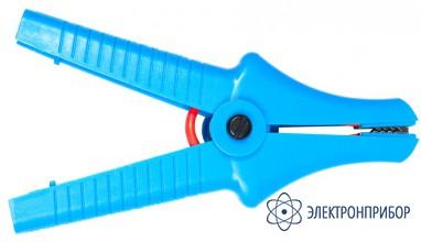 Для mic-2505/2510/5000, mpi-525 Зажим «Крокодил» изолированный голубой К07 5,5 кВ