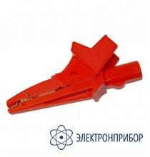 Для mpi-5xx, mru-200 Зажим крокодил изолированный красный K02