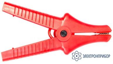Для mic-2505/2510/5000, mpi-525 Зажим «Крокодил» изолированный красный К07 5,5 кВ