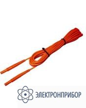 """Для mzc-30x, mpi-xxx Провод измерительный 10 м с разъемами """"банан"""" красный"""