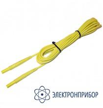 """Для mzc-xxx, mpi-xxx, mie-500 Провод измерительный 10 м с разъемами """"банан"""" желтый"""