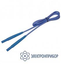 Для mpi-508/511 Провод измерительный 1,2 м с разъемом банан голубой