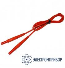 Для mrp-200, mru-10x, mpi-508/511 Провод измерительный 1,2 м с разъемом банан красный