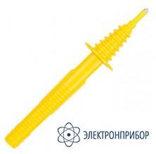С разъемом банан желтый (mzc-xxx, mrp-xxx, mie-500, mic-3) Зонд острый