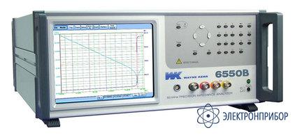 Прецизионный вч измеритель WK 6550B
