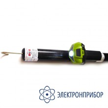 Указатель высокого напряжения комбинированный (с курсовым фонарем vonatex) УВНК-10Б (исполнение 3) 35-220кВ