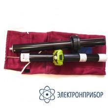 Указатель высокого напряжения комбинированный (с курсовым фонарем vonatex) УВНК-10Б (6-35 кВ)